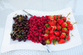 Heap of berry fruit — Stock Photo