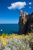 The well-known castle Swallow's Nest — Stock Photo