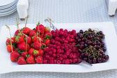 Heap of berry fruit — Stock Photo