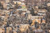 Paesaggio invernale in città — Foto Stock