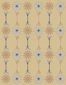 Daisy pattern wallpaper — Stock Vector