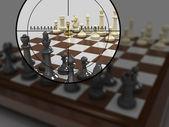 Gold pawn 8 — Stock Photo
