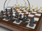 Gold pawn 7 — Stock Photo