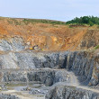 Stock Photo: Stone quarry