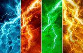 抽象的な雷 — ストック写真