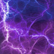 Stock Photo: Blue fantasy lightning