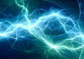 Blue fantasy lightning — Foto Stock