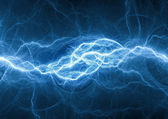 Blue fantasy lightning — Stock Photo