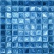 Blue glass mosaic — Stock Photo