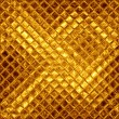 Abstract golden mosaic — Stock Photo
