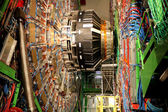 CMS Detector at LHC — Stock Photo