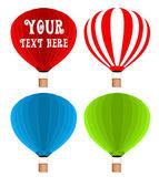 Air-Balloons-Vector — Stock Vector