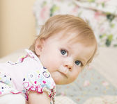 Portrait of the baby of 11 months old. — Stock Photo