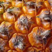 Pineapple, close-up texture — Stock Photo