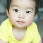 Cute asian baby boy — Stock Photo