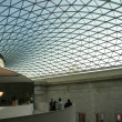 Glass roof on the atrium of the British Museum in London, England — Stock Photo #27140955