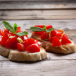 Stock Photo: Italibruschetta