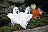 Pair of merry ghosts. — Stock Photo