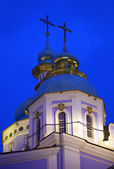 Church's cupolas. — Stock Photo