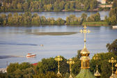 Landscape of the Dnieper River. — Stock Photo