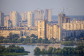 New residencial district in Kyiv city. — Stock Photo