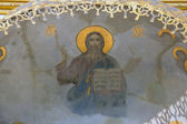 Fresco of Jesus Christ. — Stock Photo