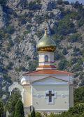 Church in Crimean mountains. — Foto de Stock