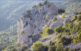 Montagna di roccia. — Foto Stock