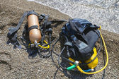 Set of Scuba Diving equipment. — Stock Photo