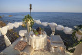 Place for romantic date. — Foto de Stock