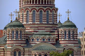 Detail of Cathedral of the Annunciation in Kharkov. — Stock Photo