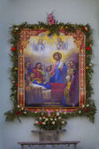 Icon of Assumption of the Virgin Mary in Kharkov. — ストック写真