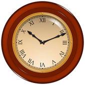 Wall Clock UI — Stock Vector