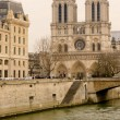 Notre Dame Paris — Stock Photo