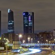 Four towers business area, Madrid — Stock Photo #38246191