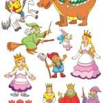 Постер, плакат: Funny fairy set