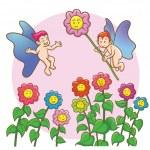Fairy love — Stock Vector #27705359