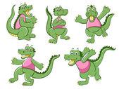 Crocodile — 图库矢量图片