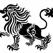 Stock Photo: Lion tattoo
