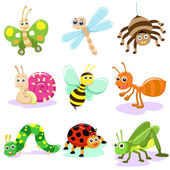 Insect CARTOON SET — Stock Photo
