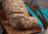 Rye bread sliced — Stock Photo