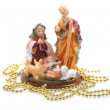 Christmas figurine of Jesus . — Stock Photo #37631811