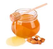 Sweet honey almonds  — ストック写真