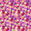 Seamless floral pattern. watercolor. — Stock Photo