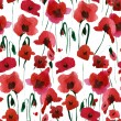 Poppies Seamless Pattern — Stock Photo #30375961