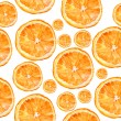 Abstract background with citrus-fruit of orange slices. — Stock Photo