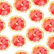 Grapefruit seamless big background. — Stock Photo