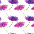 Watercolor Flowers Pattern — Stock Photo