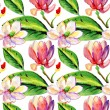 Floral magnolia flowers — Stock Photo