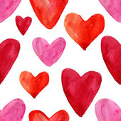 Hearts seamless pattern — Stock Photo